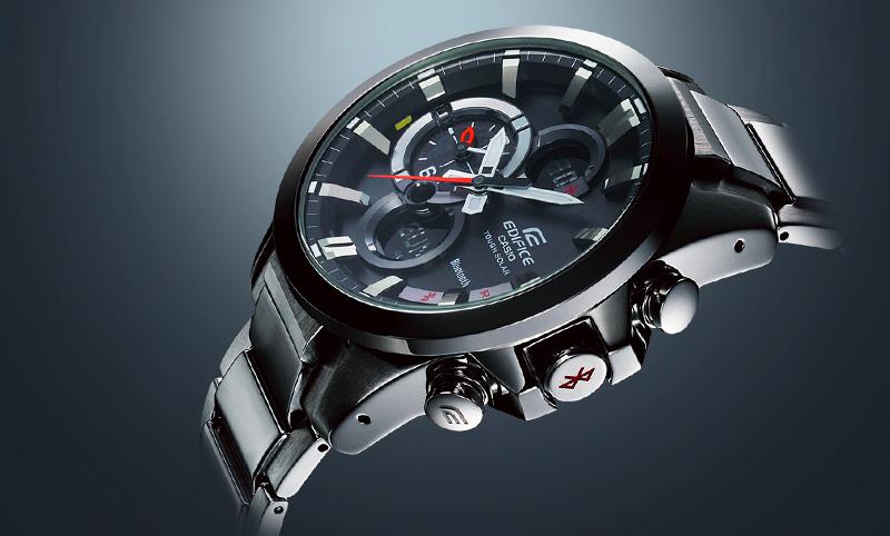 Edifice ECB-500 Analogowy smartwatch od Casio