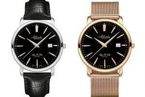 Podróż w czasie z Atlantic. Zegarkowe nowości w stylu retro.
