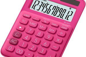 Mój styl - kolorowe kalkulatory Casio