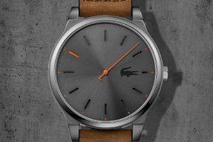 Nowoczesny sposób odczytywania godziny w zegarkach Lacoste