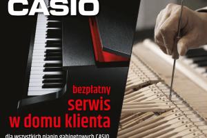 Serwis i naprawa pianin CASIO w domu klienta