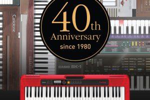 40-lecie instrumentów CASIO