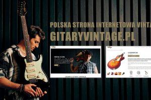 Gitary Vintage w dystrybucji Grupy Zibi